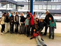 Eislaufen Gruppe